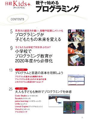 日経Kids+ 親子で始めるプログラミング raw zip dl