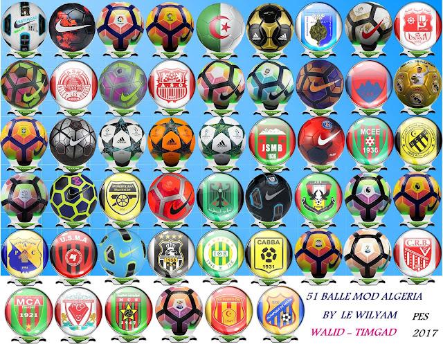 PES 2017 Ball Pack Algeria dari LE Wilyam