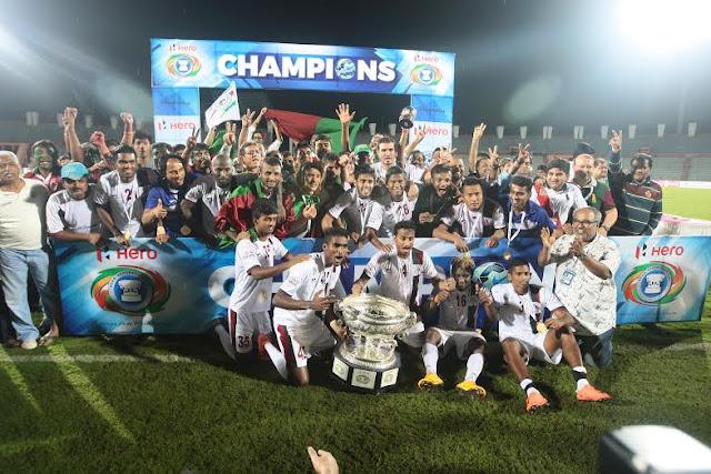 Mohun Bagan beat Aizawl FC to win Hero Federation Cup 2016