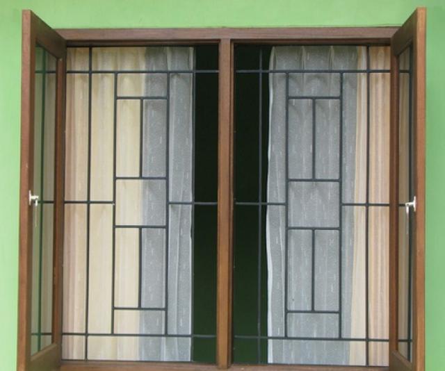 teralis dua daun jendela