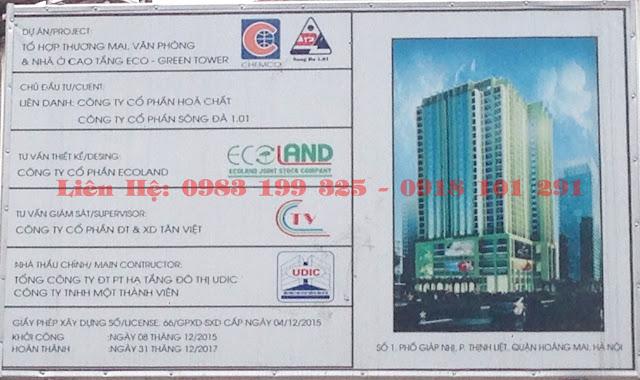 phoi canh chung cu Eco Green Giap Nhi