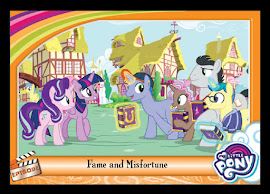 My Little Pony Fame and Misfortune Series 5 Trading Card