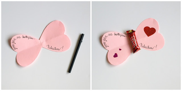 butterfly valentines for kids || This Little Miggy Stayed Home