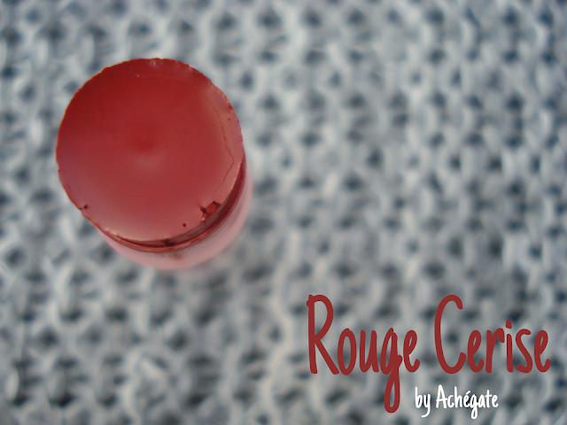 Pintalabios bio Rouge Cerise by Achégate (rojo cereza ecológico)