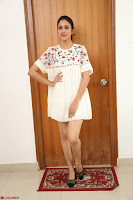Lavanya Tripathi in Summer Style Spicy Short White Dress at her Interview  Exclusive 295.JPG