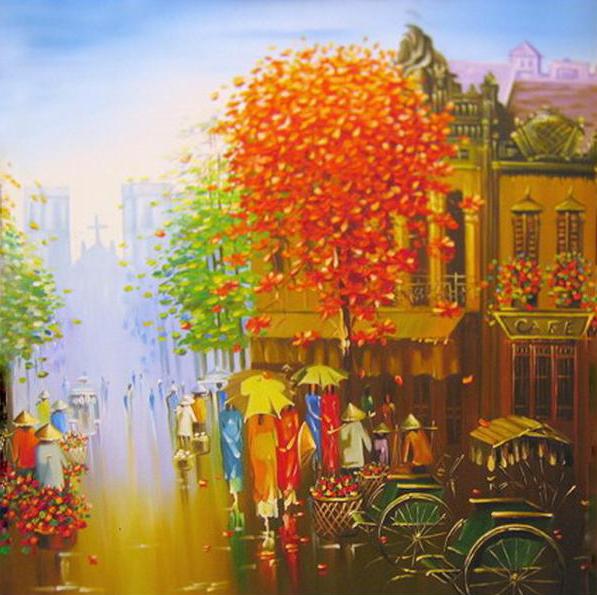 Tranh Nguyễn Xuân Mạnh