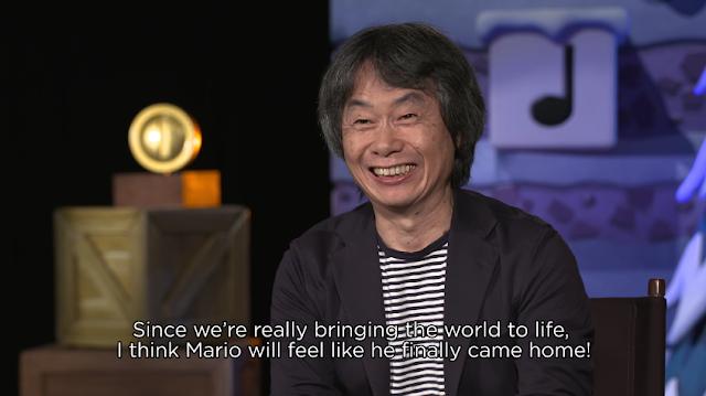 Shigeru Miyamoto Super Mario Universal come home theme parks studios immersion Nintendo