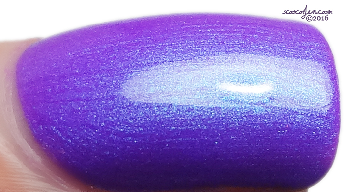 xoxoJen's swatch of Tonic Nail Polish Light of Lyra