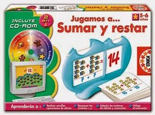 Juegos de matematicas para niños de sumar y restar