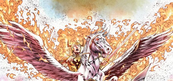 Review: Demon Knights #3 ~ The 52 Review