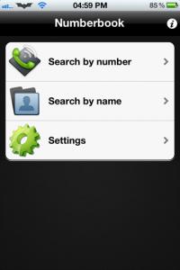 تحميل برنامج نمبر بوك Number Book لهواتف الايفون و الجالاكسي و الايباد - نمبر بوك 2012