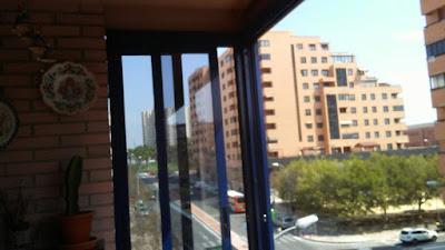 Cerramiento terraza Alicante