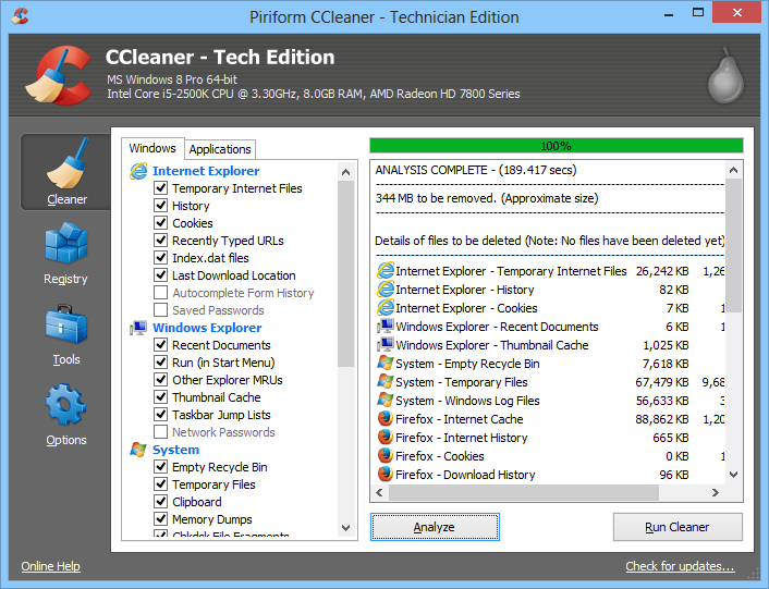 CCleaner v5.14.5493 Incl. Business, Technician and Professional Serial Key