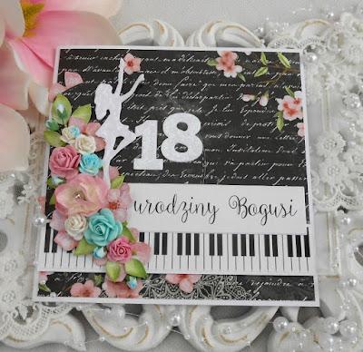 Dla Bogusi na 18 urodziny