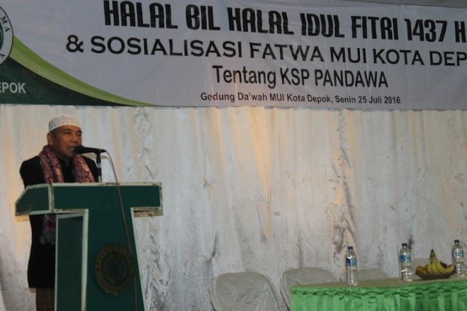 MUI Keluarkan Fatwa Haram Usaha KSP Pandawa Group
