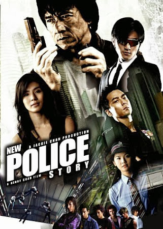 Poster Of New Police Story In Dual Audio Hindi English 300MB Compressed Small Size Pc Movie Free Download Only At worldfree4u.com