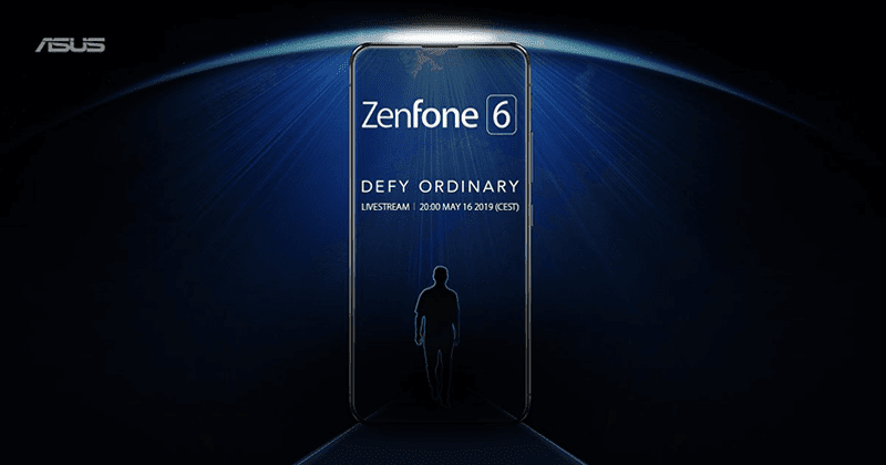 ASUS teases ZenFone 6, to launch on May 16
