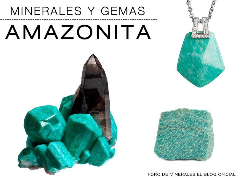 Minerales y Gemas : Amazonita