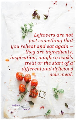 leftovers are inspiring ingredients pinterest image