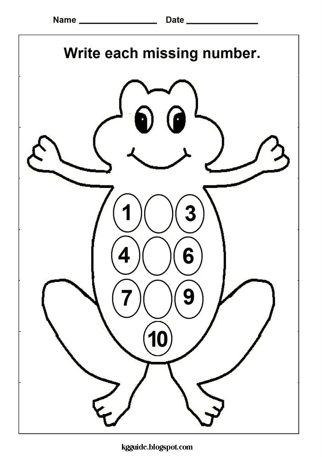 Number Worksheets Before And After To 50