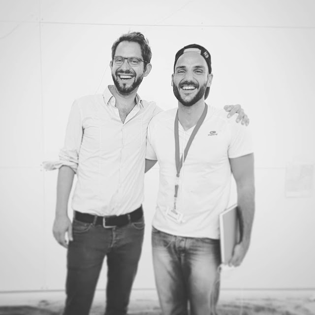 Architect Tobias Kunz and Artist Ben Heine - Dresden 2016