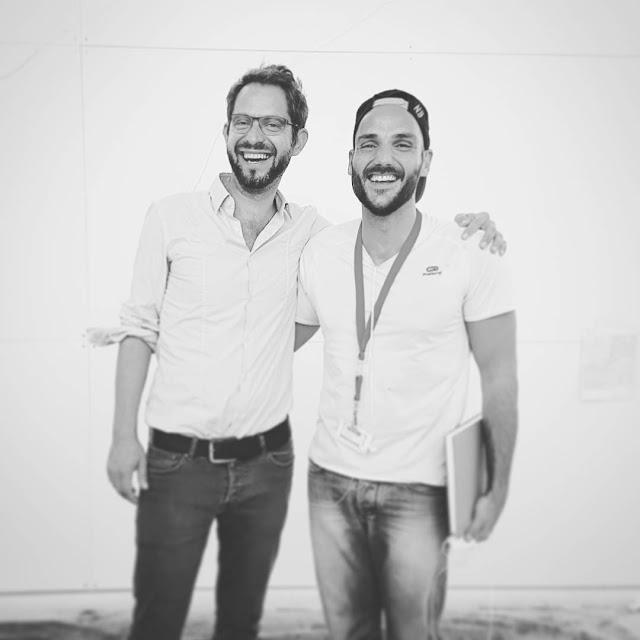 Architect Tobias Kunz and Artist Ben Heine - Dresden 2016