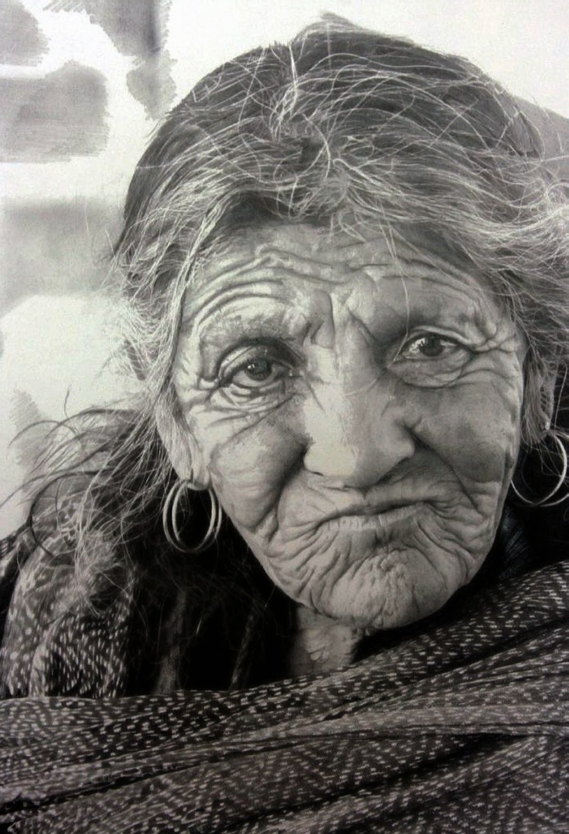Simply Creative: Hyper-Realistic Portraits by Paul Cadden  Simply Creative...