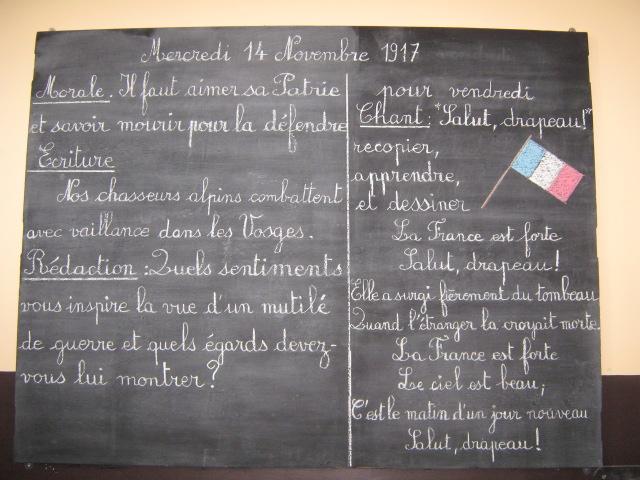 Honneur aux Poilus !