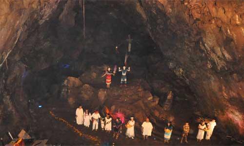 Cueva de la Orquídea en Xalapa