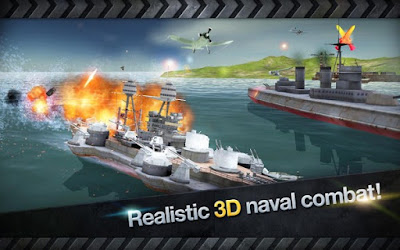 WARSHIP BATTLE : 3D World War II v1.4.0 Apk + Mod (Unlimited Money)