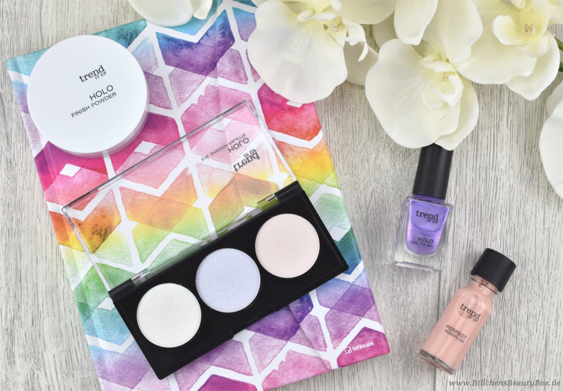 trend IT UP neues Sortiment Frühling und Sommer 2018 - Holo Eye Shadow Palette