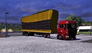 Bulk Coal trailer