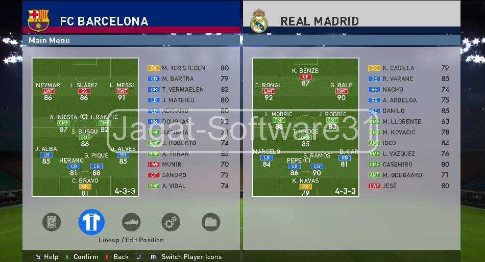 Option File PES 2016 Update 08/11/2015 - Jagat Software 31