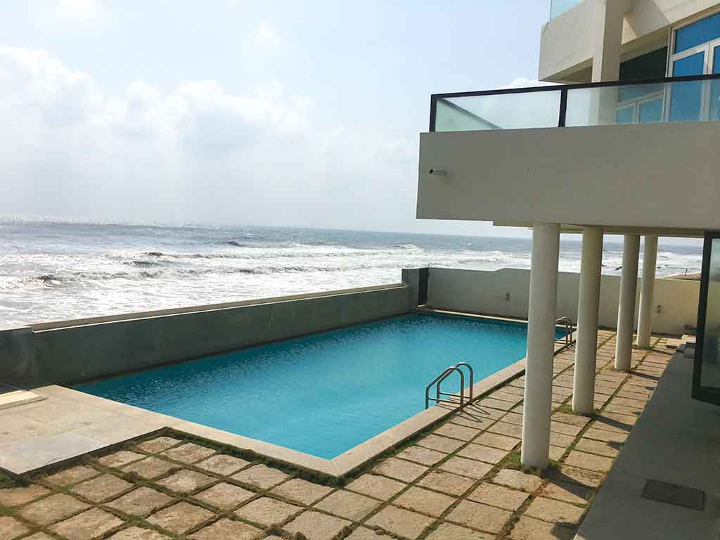 infinity ecr beach house for daily rent
