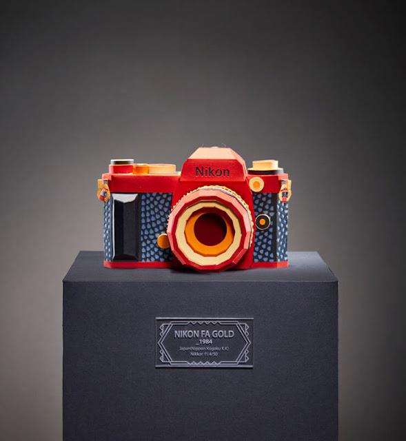 Cámaras clásicas Nikon Fa Gold