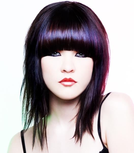Adriana Lima Emo Hair Color Ideas