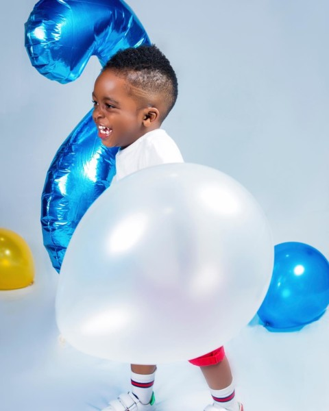 Jam Jam clocks 2! Tiwa-Savage-celebrates-her-son,-Jamil's-Birthday-with-cute-photos