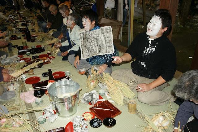 Oshiroi Matsuri (Face Paint Festival) | December, Asakura-shi, Fukuoka
