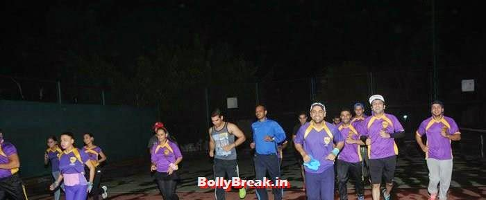Ajaz Khan, Rakhi Swant, Sara Khan, Ashita Dhawan, Abhinav Kapoor, Mayank Singh, Puru Chibber, Hiten Tejwani, Nauman, Paras Chhabra, Pics from BCL Team Rowdy Bangalore Practice Match