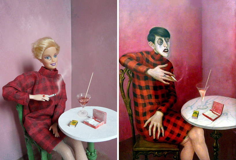Barbie Recreations of Art Classics