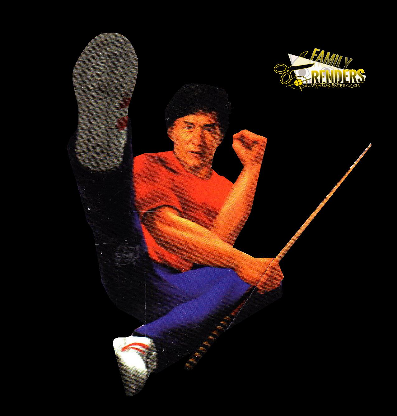 Render Jackie Chan
