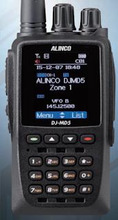 Alinco DMR Radio Steve Bossert  K2GOG N2HVD