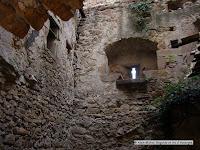 Sauvagnat sainte-Marthe, Puy de Dôme. Ruines du château