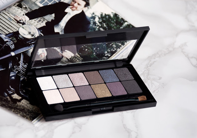 палетка теней maybelline the rock nudes отзывы