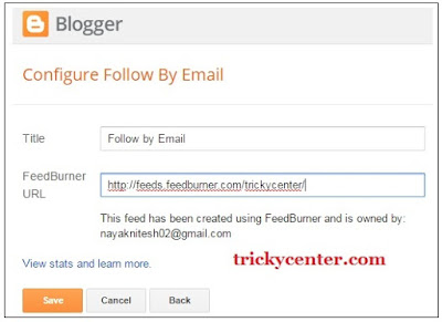 Blog me Email Subscribe widget kaise add karein
