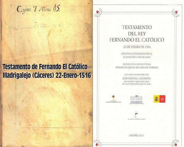 Transcripción y Estudio de  José Manuel Calderón Ortega