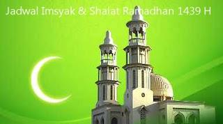 Jadwal Imsyak dan Sholat Tahun 1440 H / Tahun 2019 Secara Online