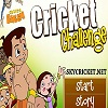 Online chhota bheem cricket challenge game