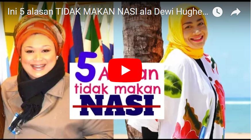 """BERHASIL Turunkan Berat Badan dari 150 kg Menjadi 70 kg, Tips LENGKAP """"Diet Kenyang"""" ala Dewi Hughes"""