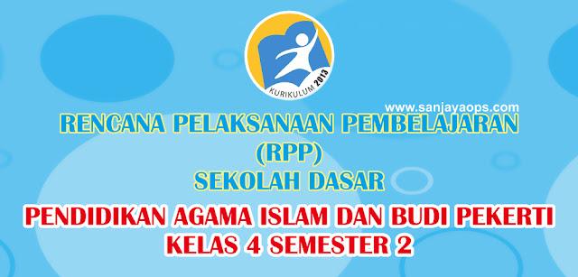 RPP PAI dan Budi Pekerti Kelas 4 Semester 2